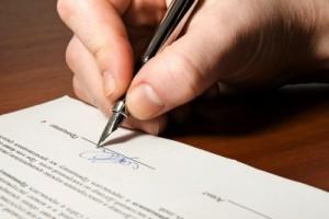подпись собственника