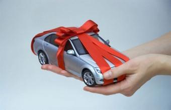 Договор дарения машины